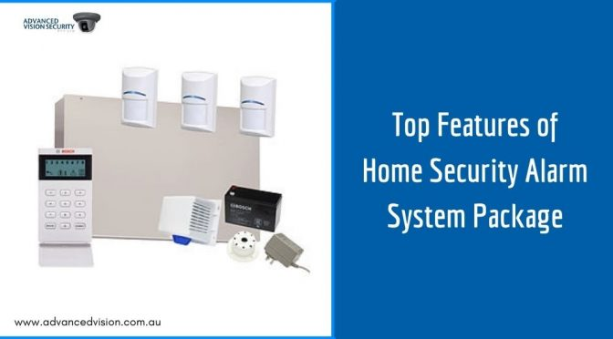 The Top Features of Home Security Alarm System Package