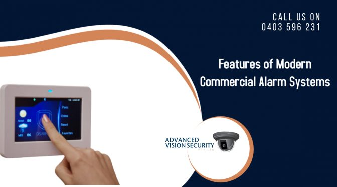 What are the 5 Major Features of Modern Commercial Alarm Systems?