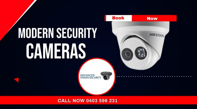 Crucial Points You Need to Know about the Modern Security Cameras